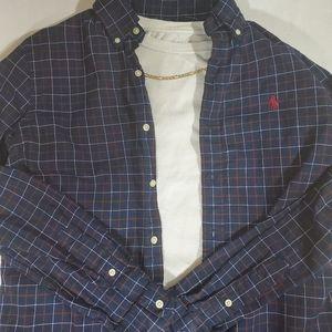 Plaid Ralph Lauren long sleeve